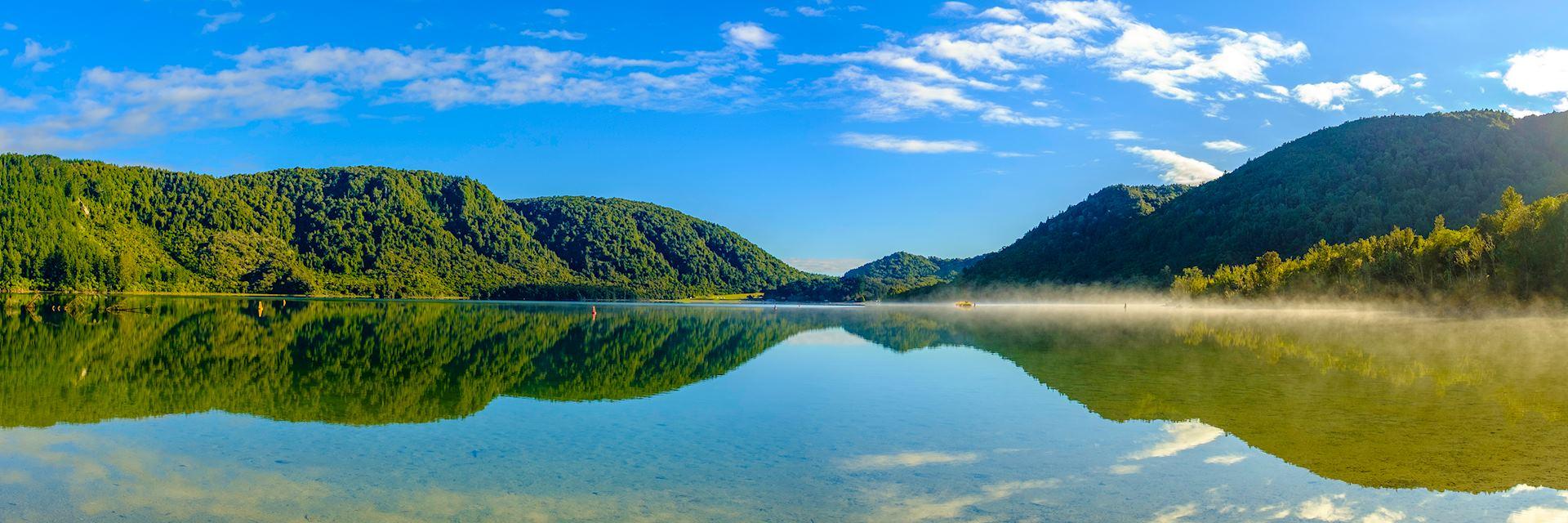 Lake Tikitapu (Blue Lake), Rotorua