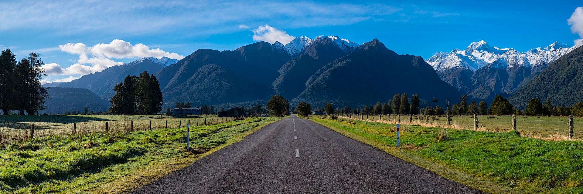 Road to Fox Glacier, South Island
