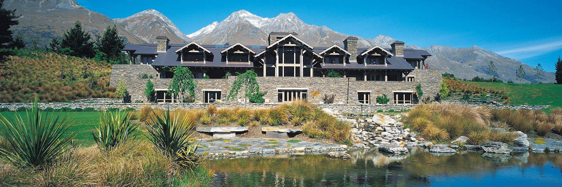 Blanket Bay Lodge, Glenorchy, New Zealand
