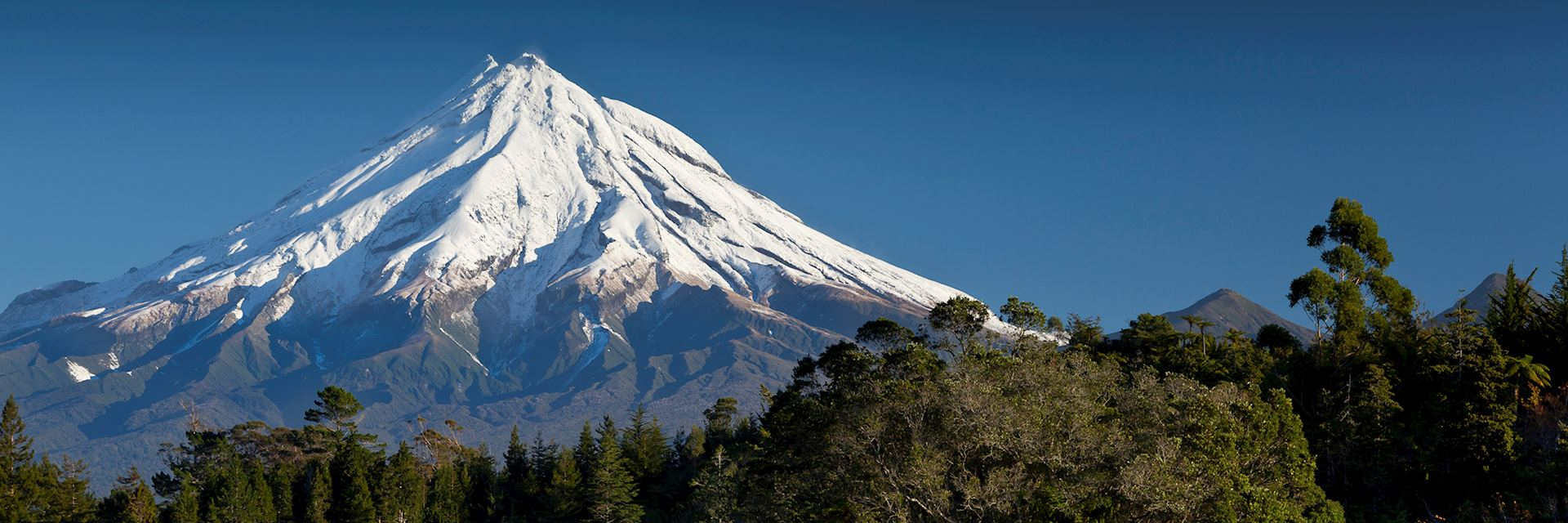 Mount Taranaki in New Plymouth, New Zealand