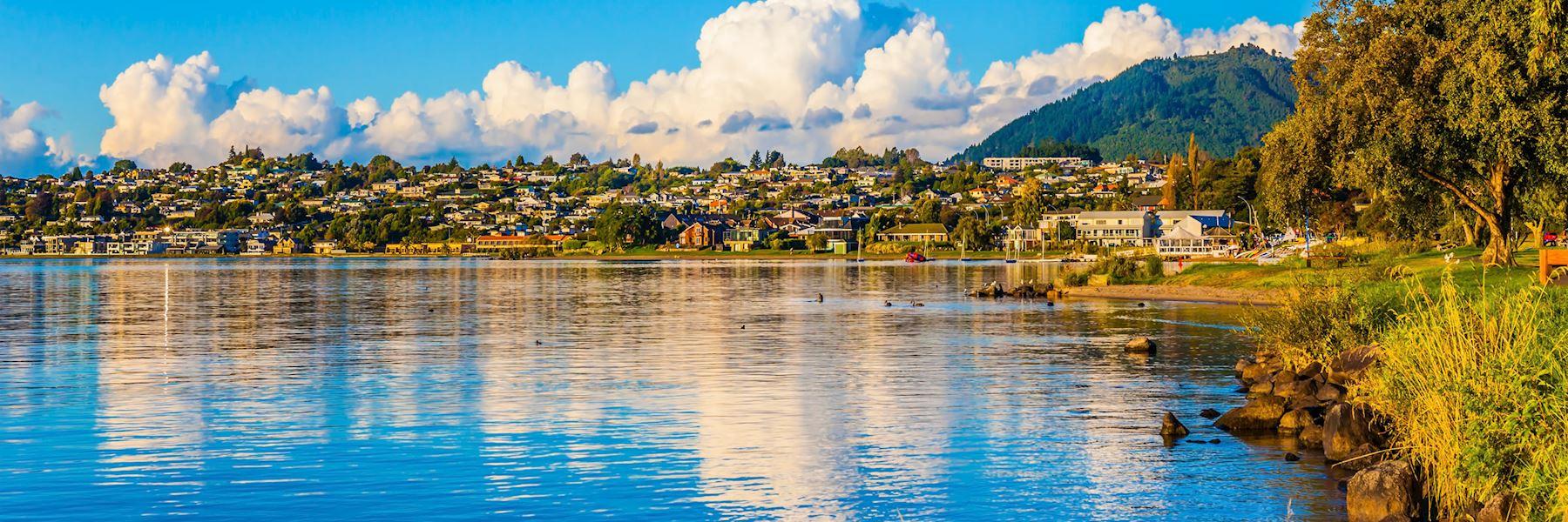 Visit Lake Taupo, New Zealand
