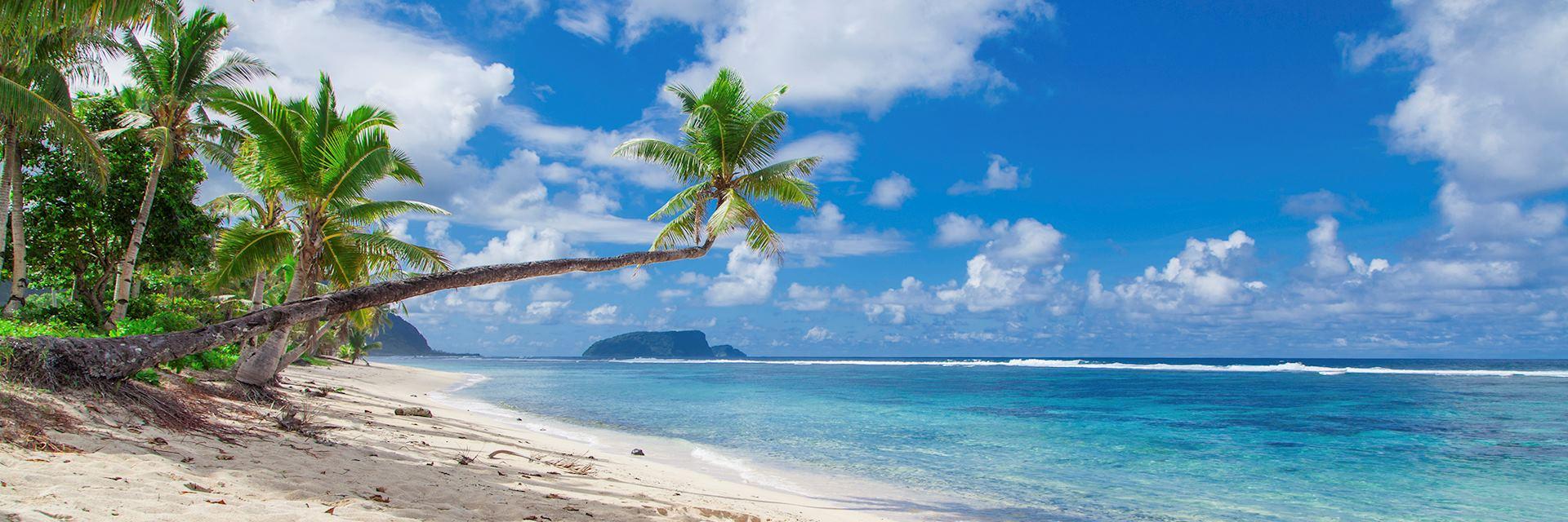 Tropical beach, Upolu