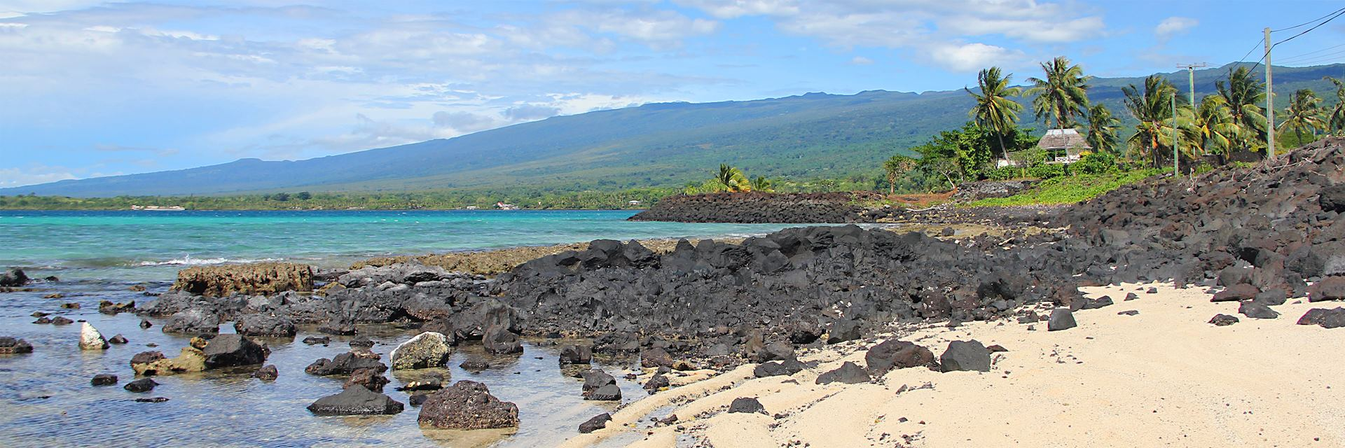 Beach on Savai'i, Samoa