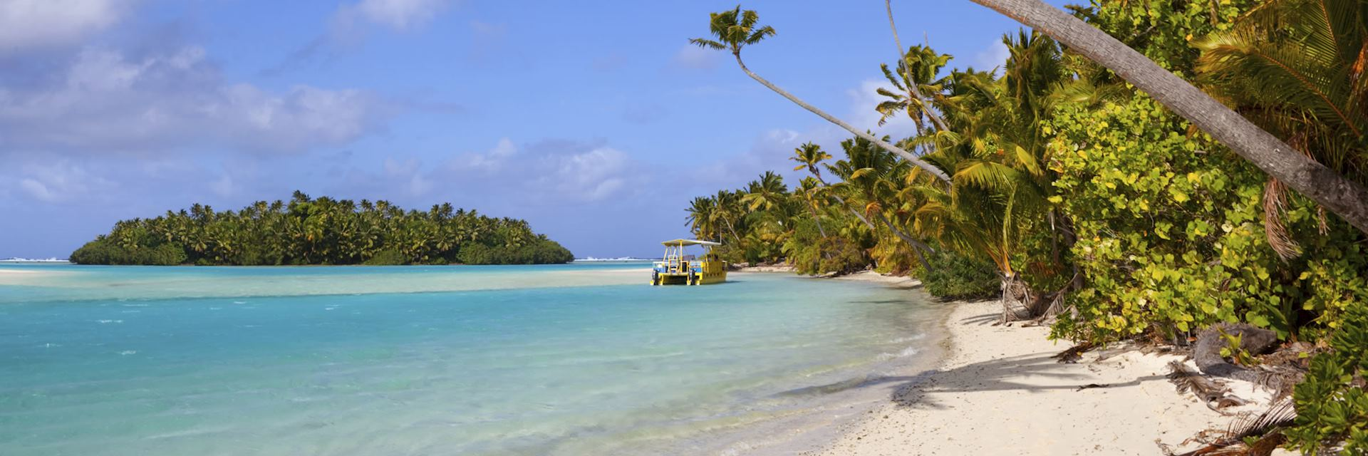 The island of Aitutaki