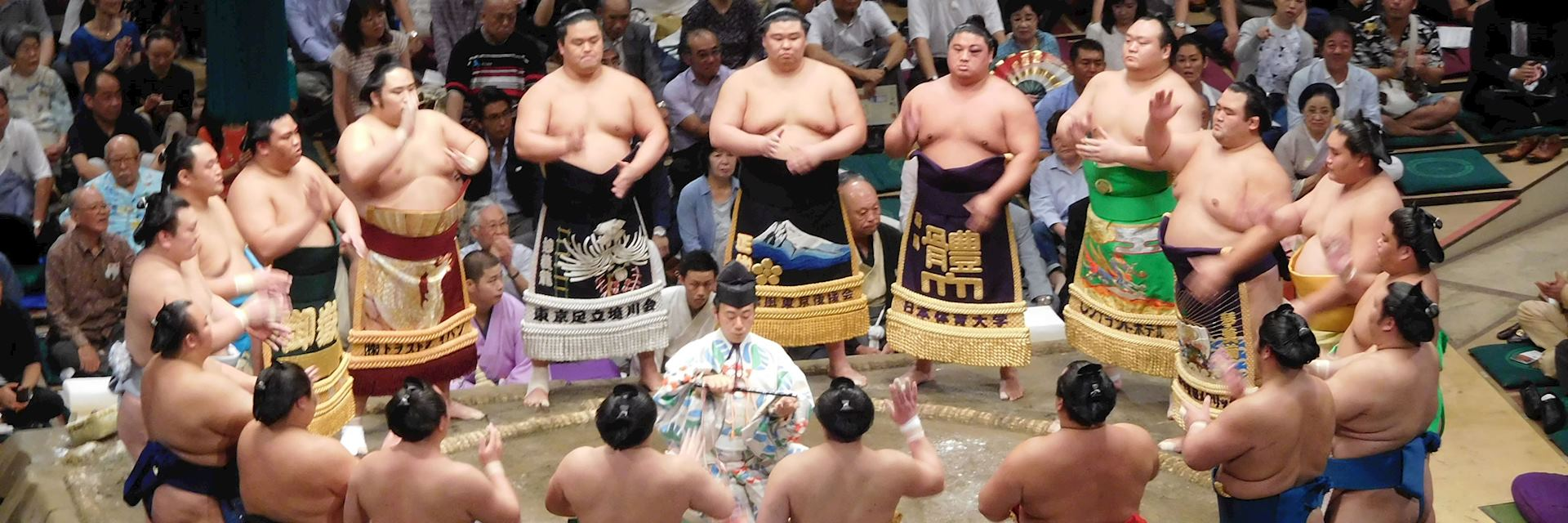 Sumo in Tokyo, Japan