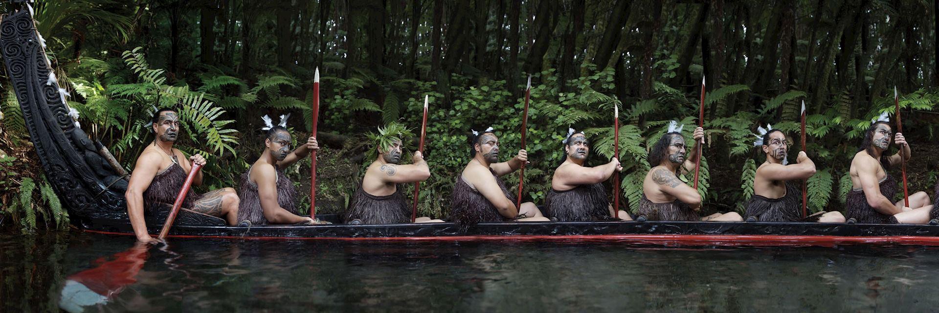 Maori cultural evening, Rotorua
