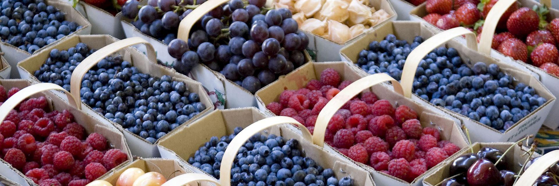 Montréal fruit market