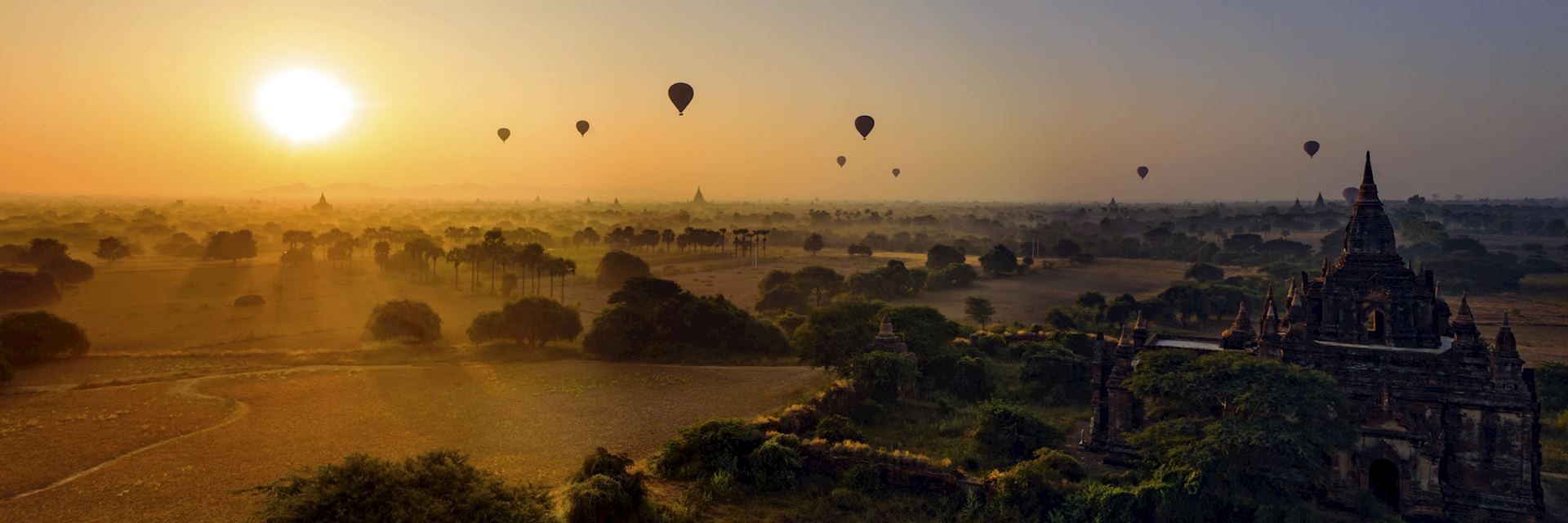 Balloon's over Bagan