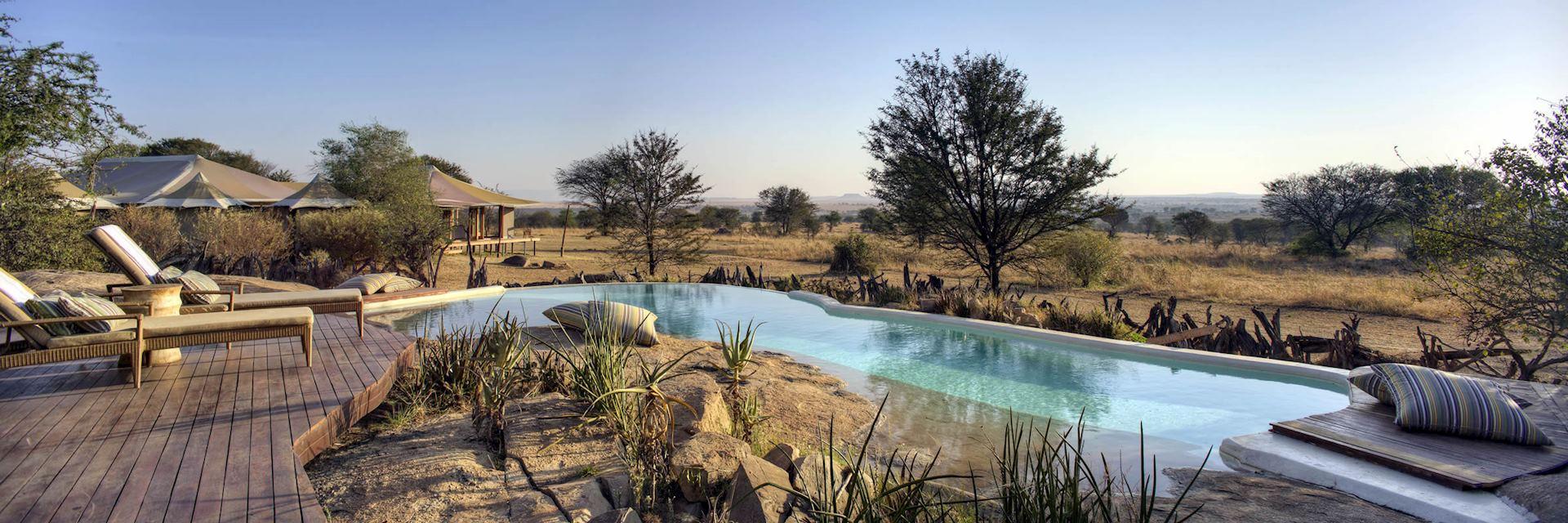 Pool at Sayari Camp, Tanzania