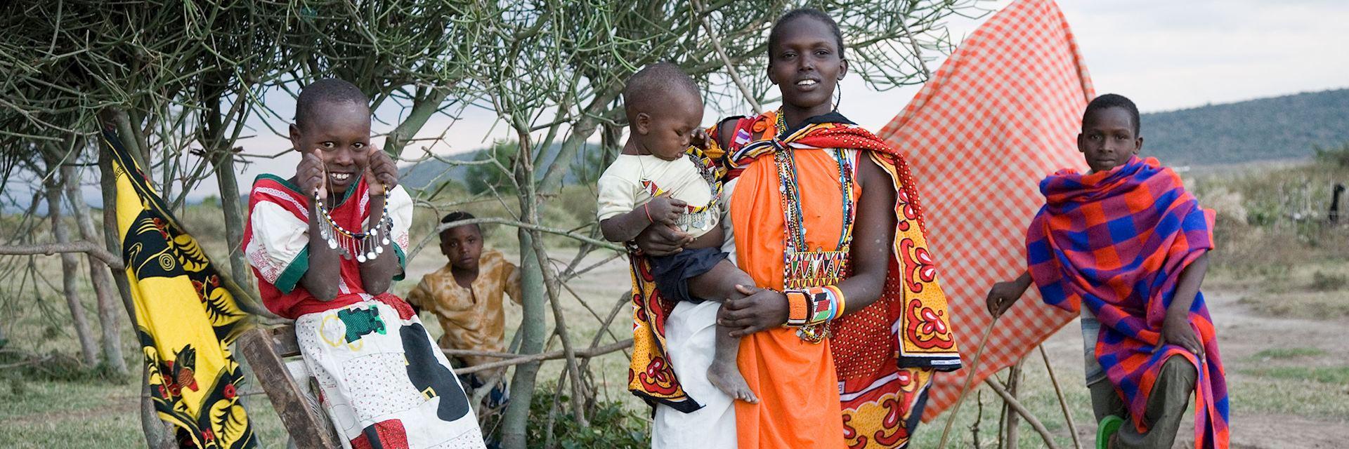 Locals of Bogani, Kenya