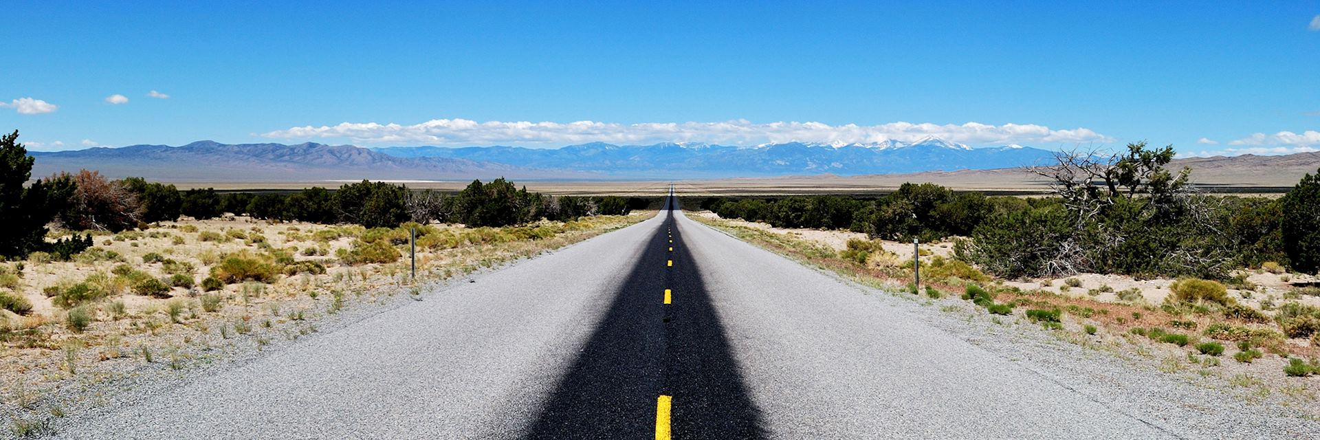 Highway 50, in Nevada by Andrew McGee
