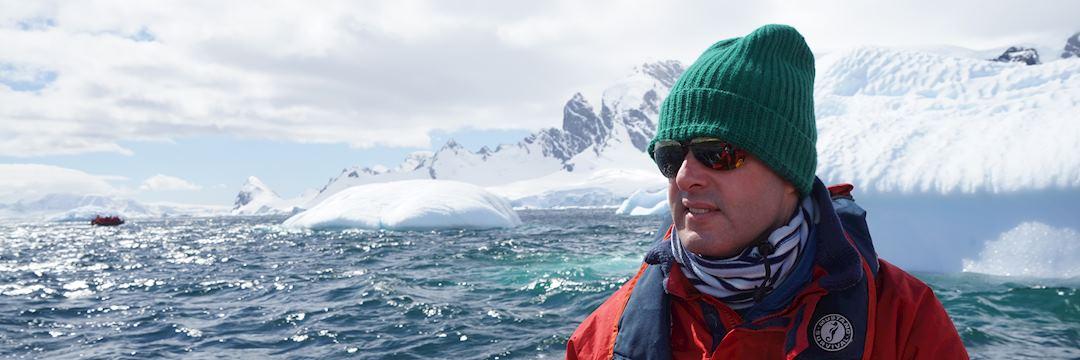 Craig in Antarctica