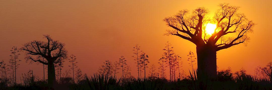 Sunset in Madagascar