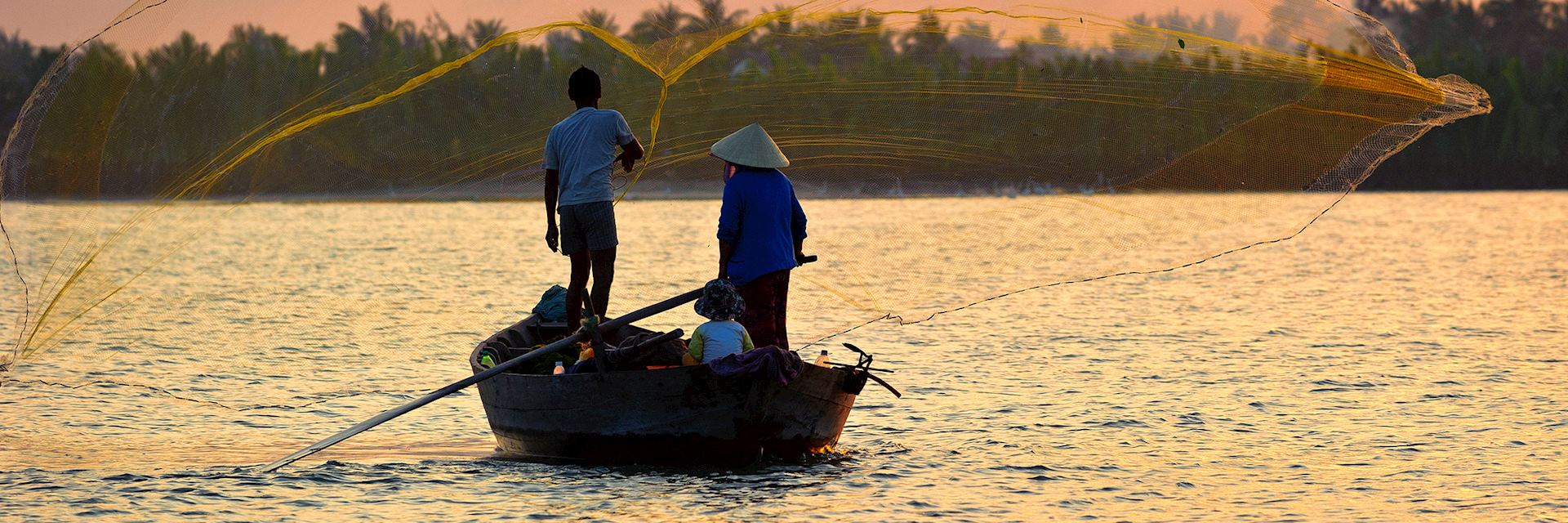 Last catch of the day, Hoi An, Vietnam