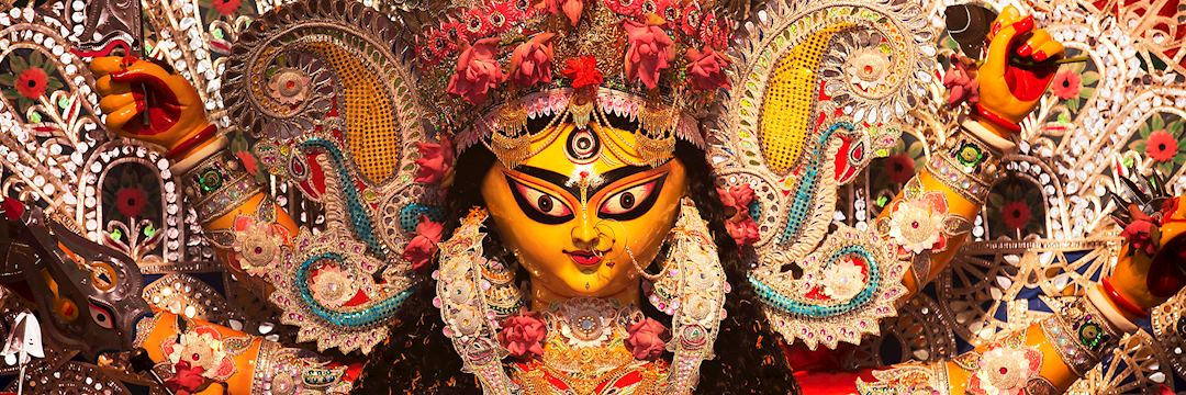 Indian Deity : Goddess during Durga Puja Festival