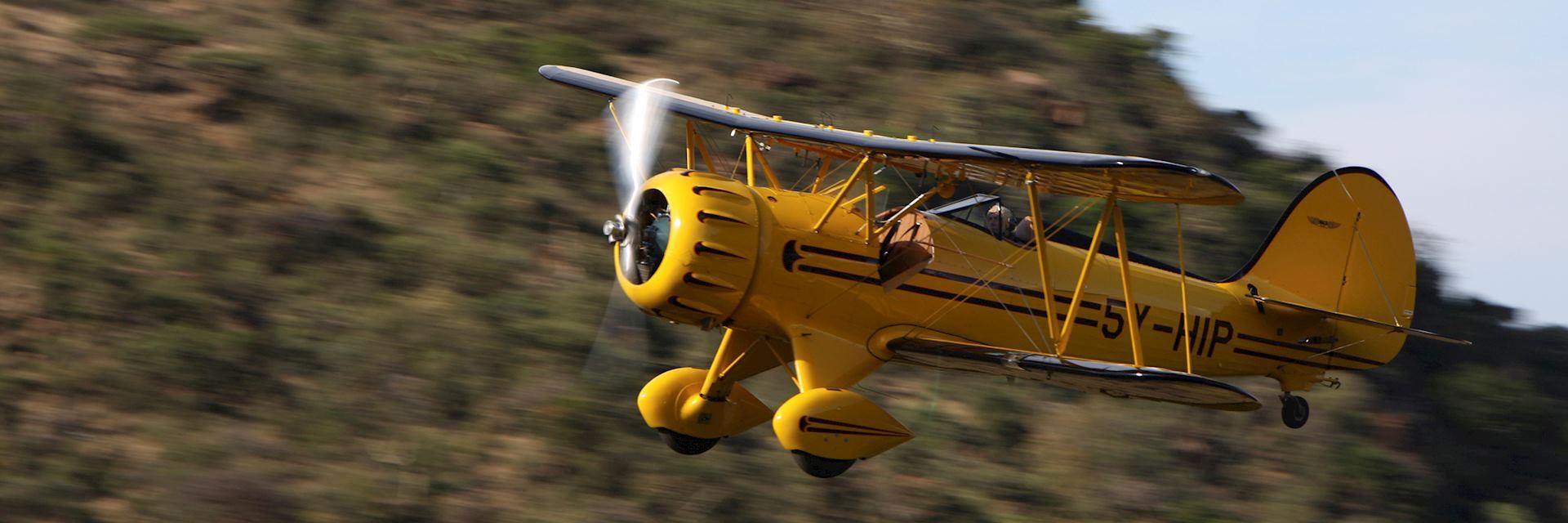 Biplane, Lewa Conservancy