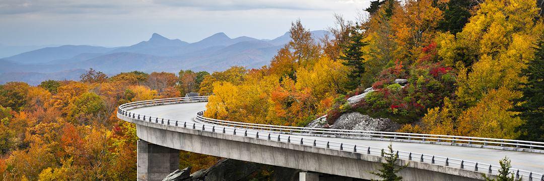 Linn Cove Viaduct, Blue Ridge Parkway, North Carolina
