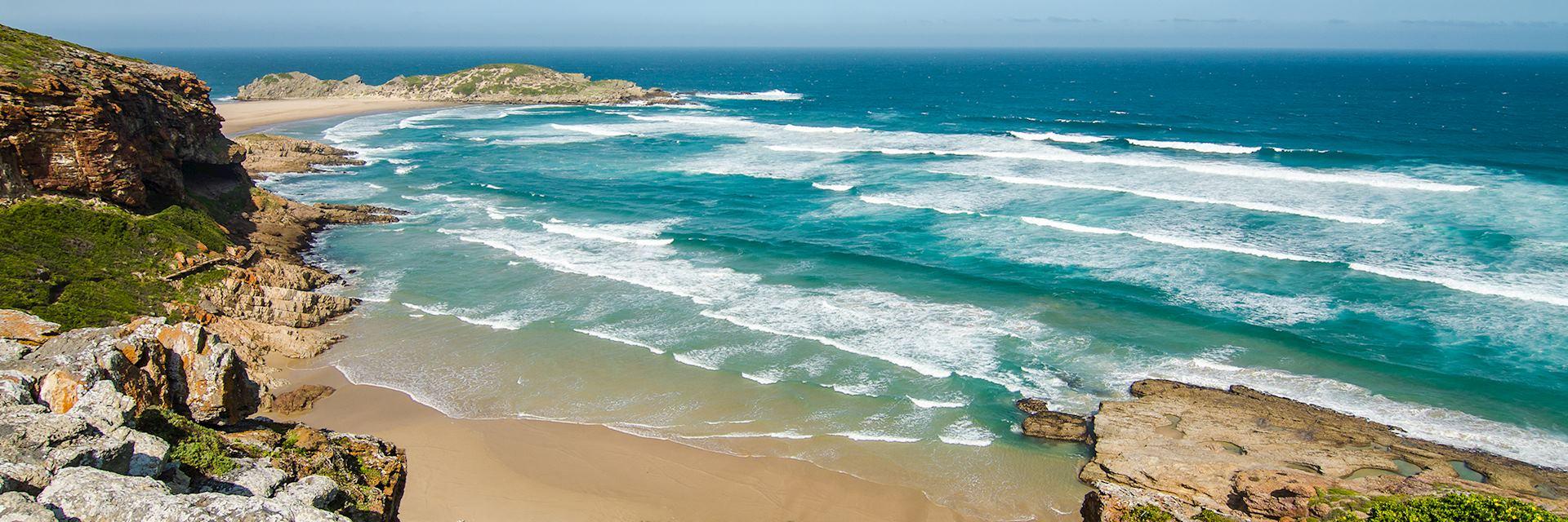 Robberg peninsula beach, Garden Route, South Africa