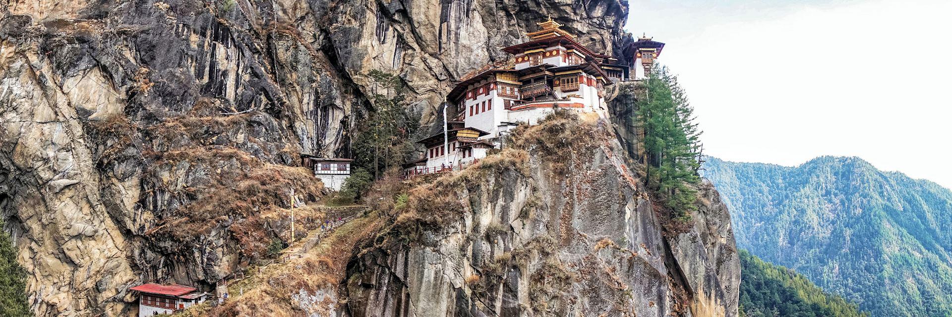 Taktshang Goemba or Tiger's Nest Monastery, Bhutan