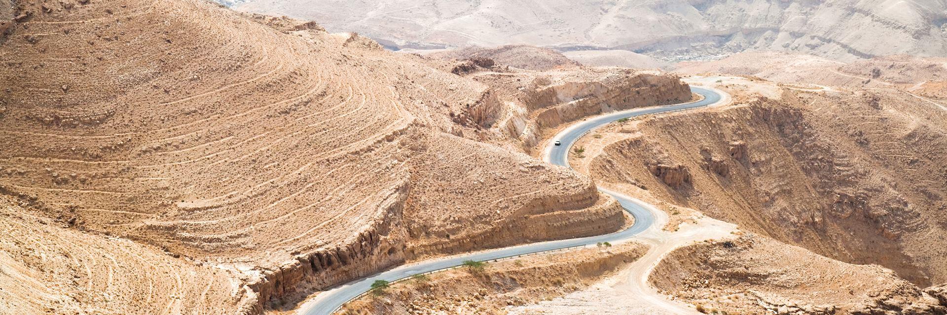 Kings' Highway at Wadi Mujib