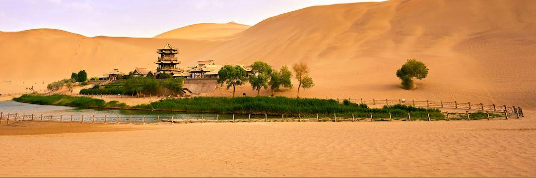 Mingsha's 'singing' dunes, Dunhuang