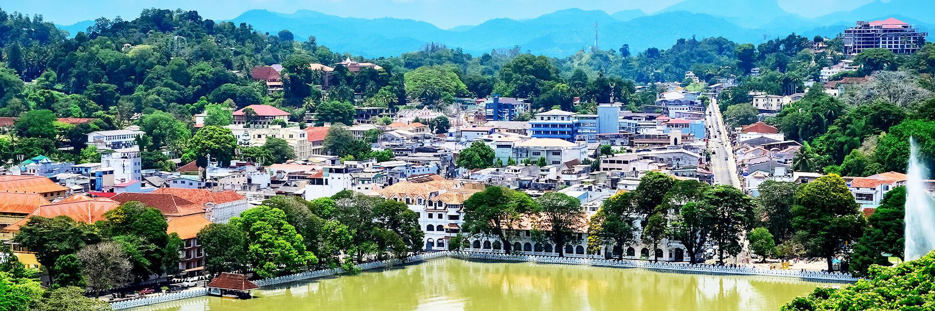 Kandy skyline, Sri Lanka