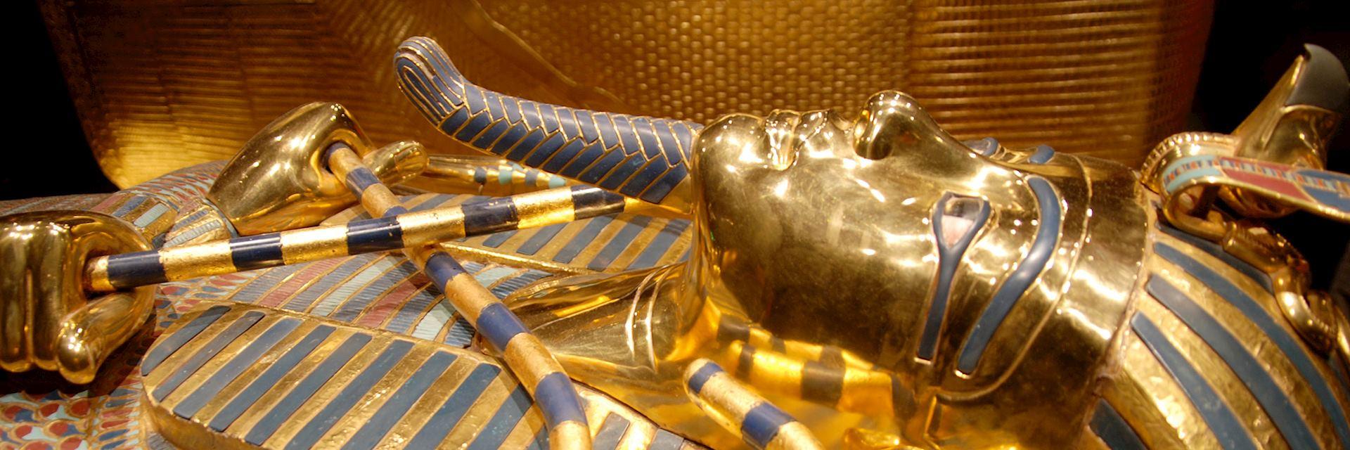 King Tutankhamun's innermost coffin