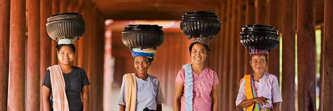 Ladies of Shan State, Myanmar (Burma)