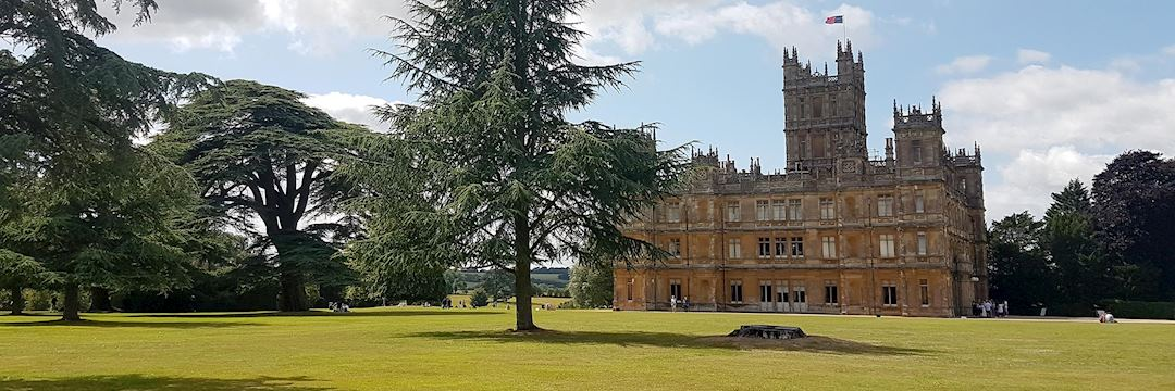 Highclere Castle and grounds