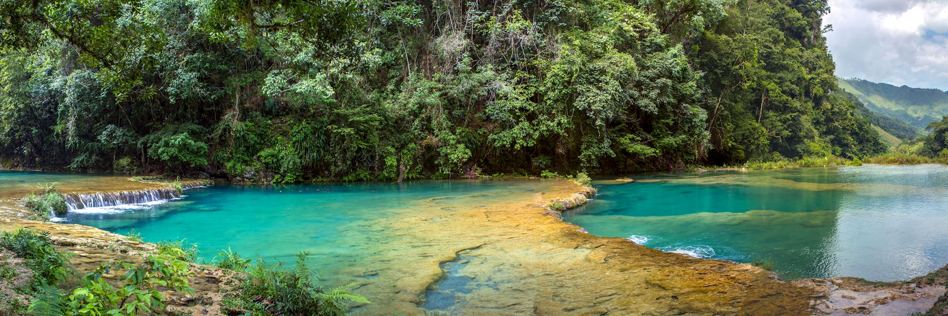 Lanquin pools Guatemala