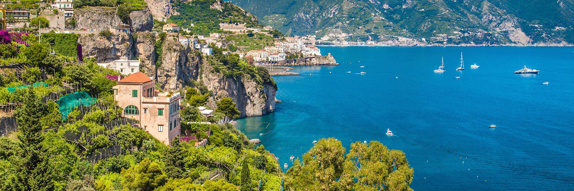 Capri on the Amalfi Coast, Italy