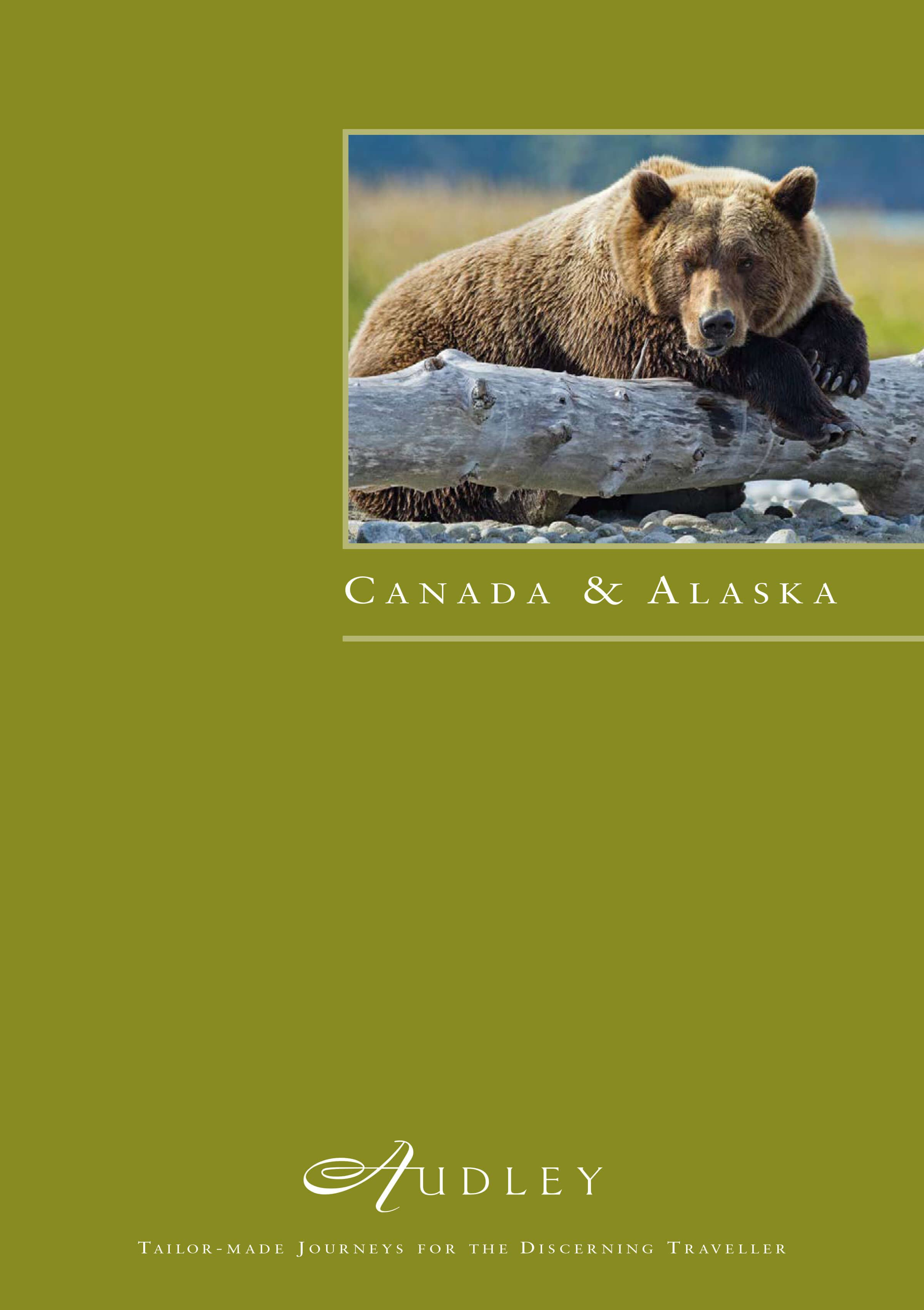 Audley Canada and Alaska Brochure Cover