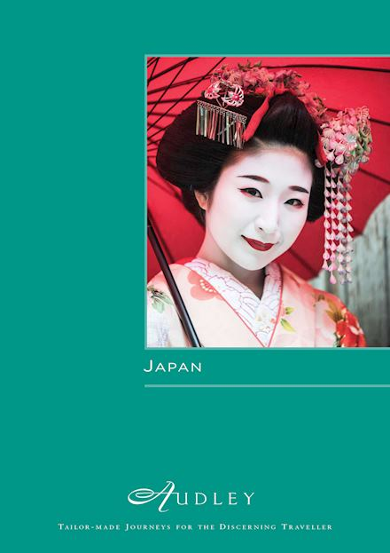 Audley Japan Brochure Cover