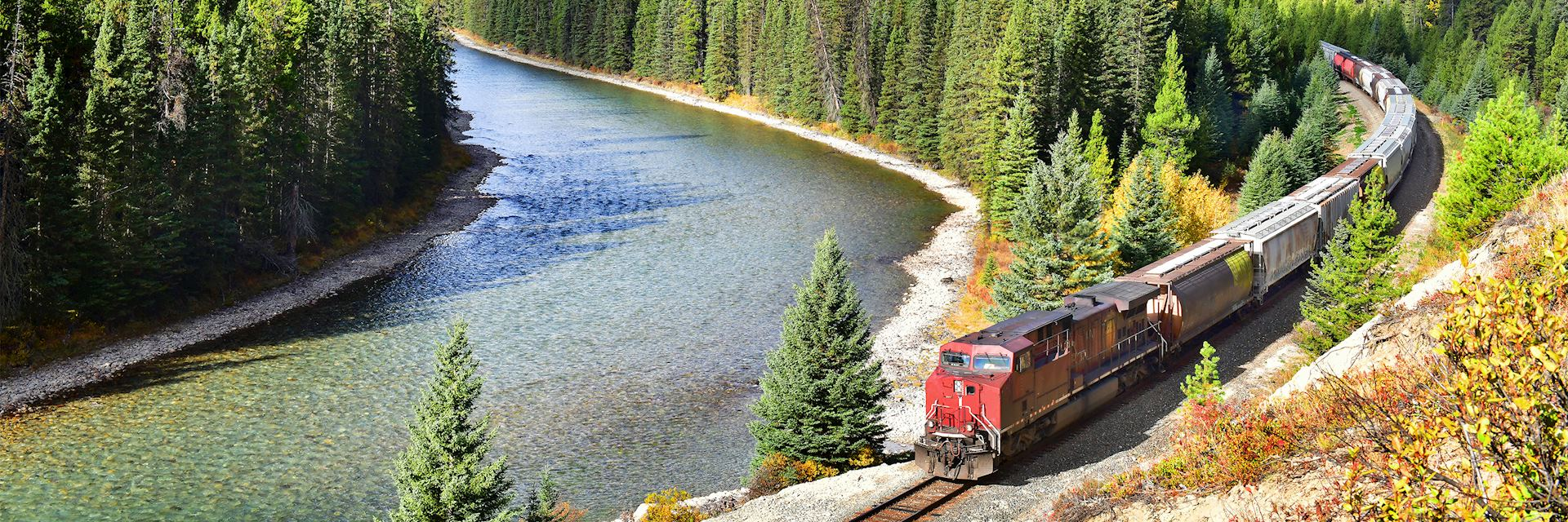 Canadian Pacific Railway in Banff National Park