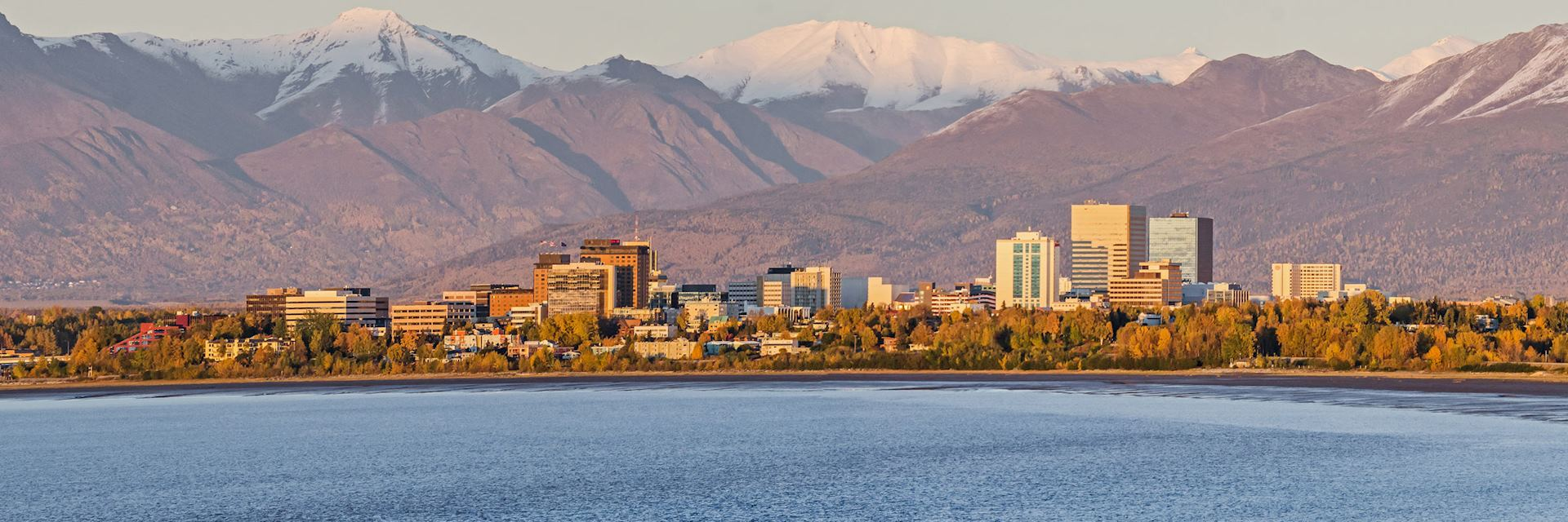 Anchorage skyline, Alaska
