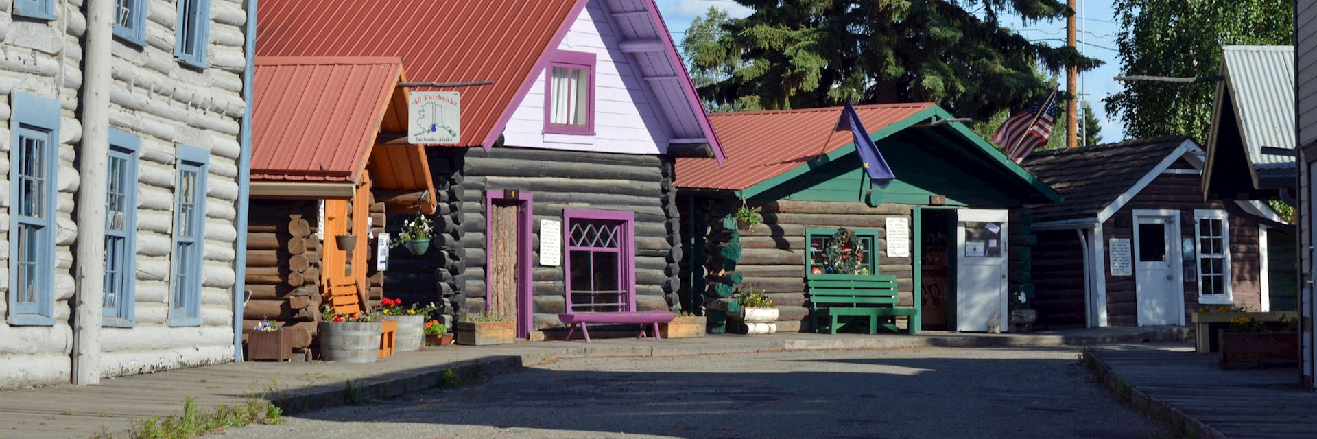 Fairbanks in Alaska