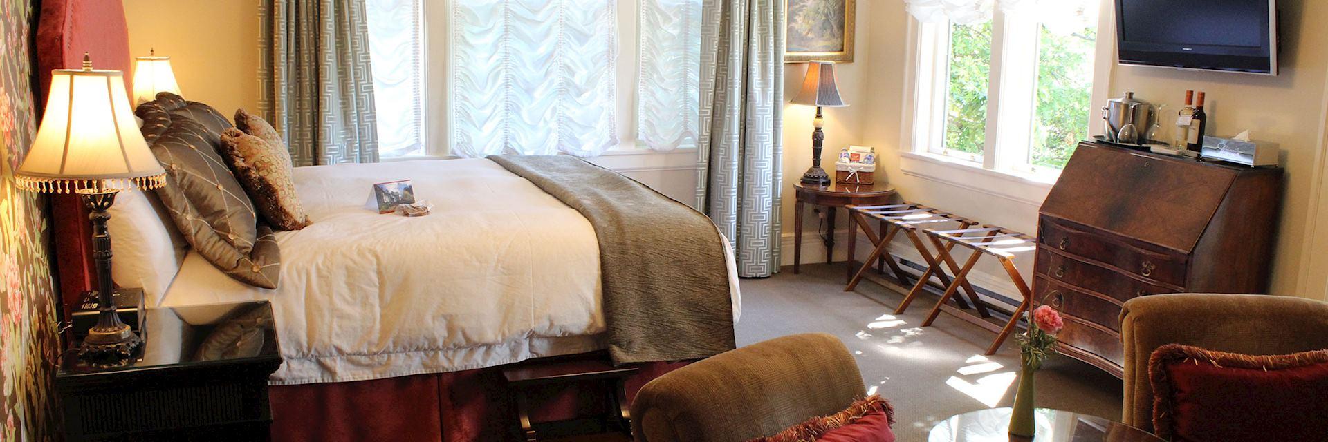 Abigail's Hotel, Victoria, Canada