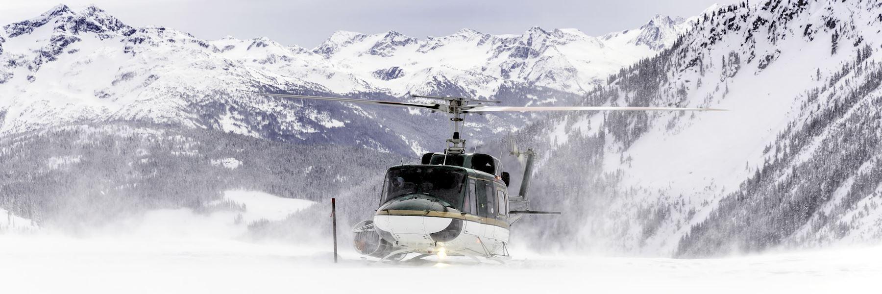 Mount Assiniboine and Gloria Glacier helicopter tour