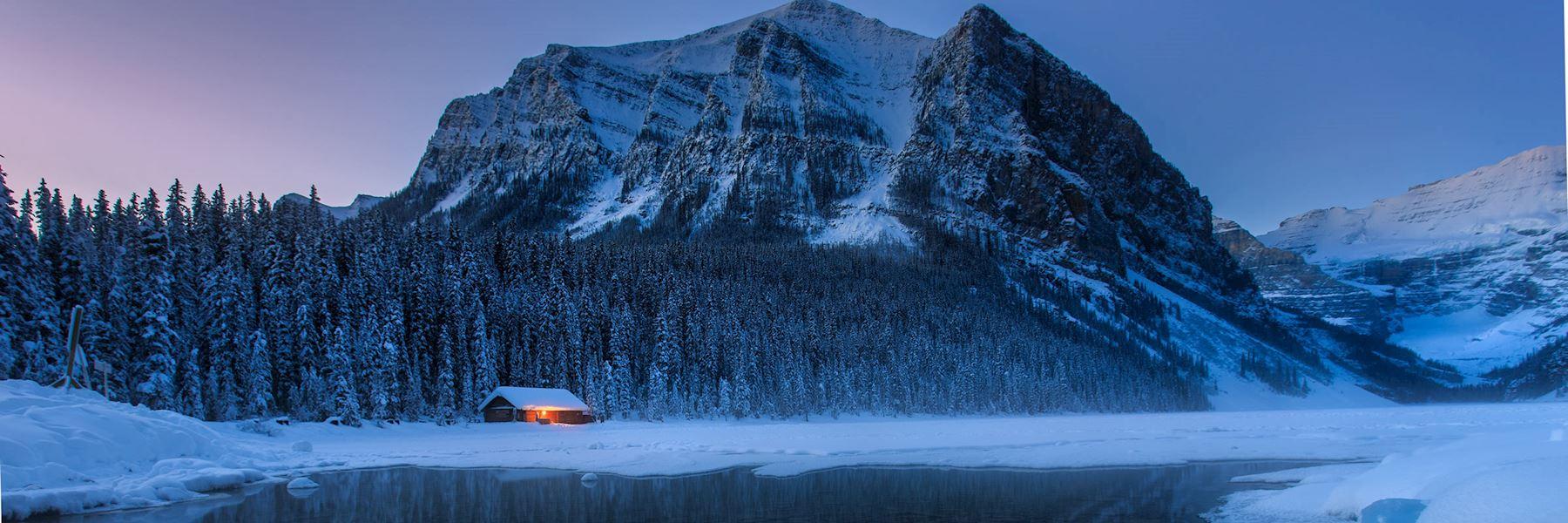 Lake Louise winter tour