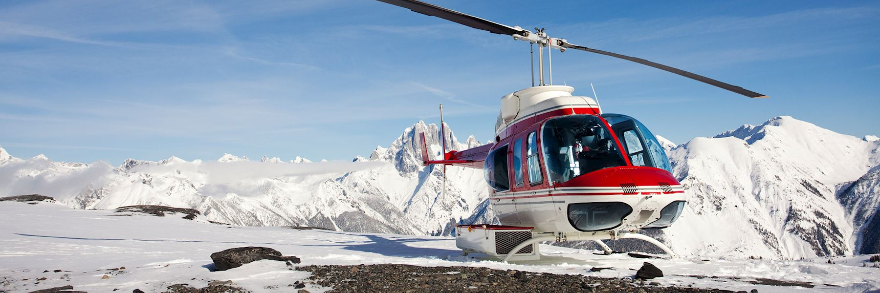 Whistler helicopter tour with glacier landing