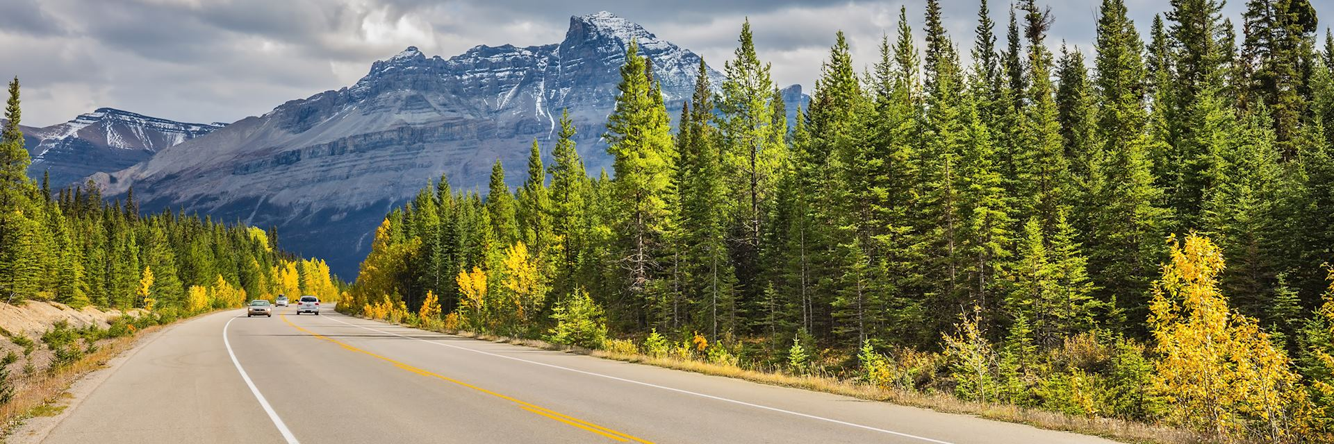Road from Jasper to Banff, Icefields Parkway