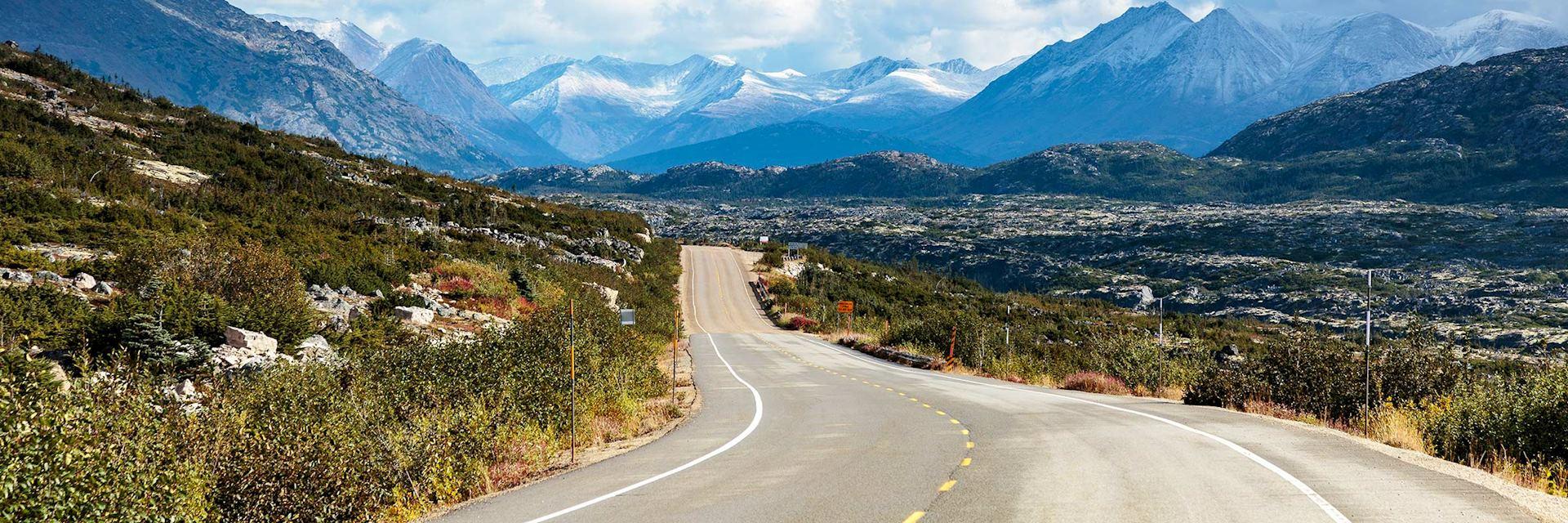 Klondike Highway in the Yukon