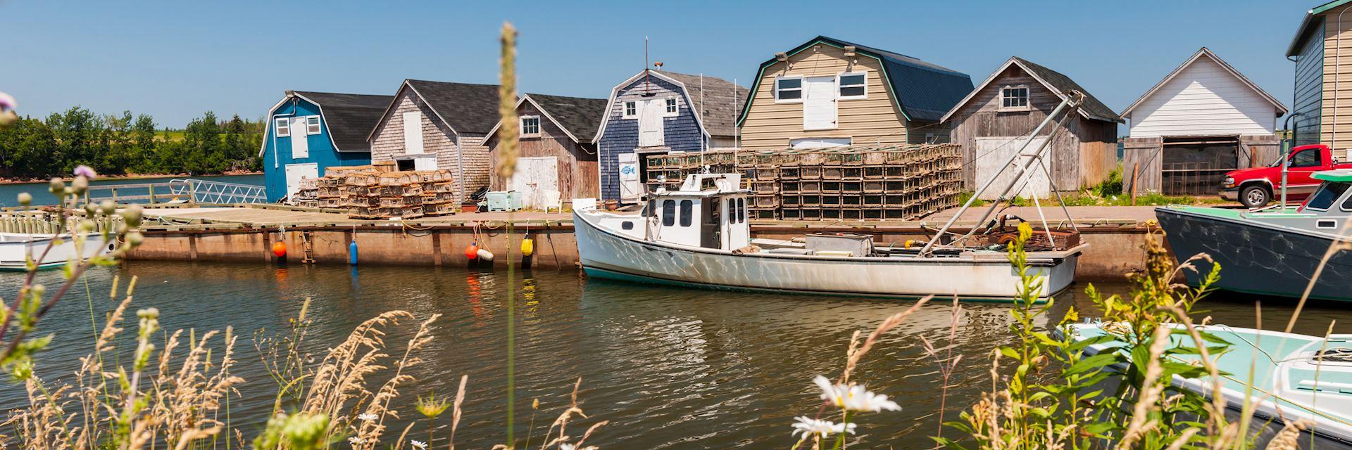 Fishing village near Cavendish, Prince Edward Island