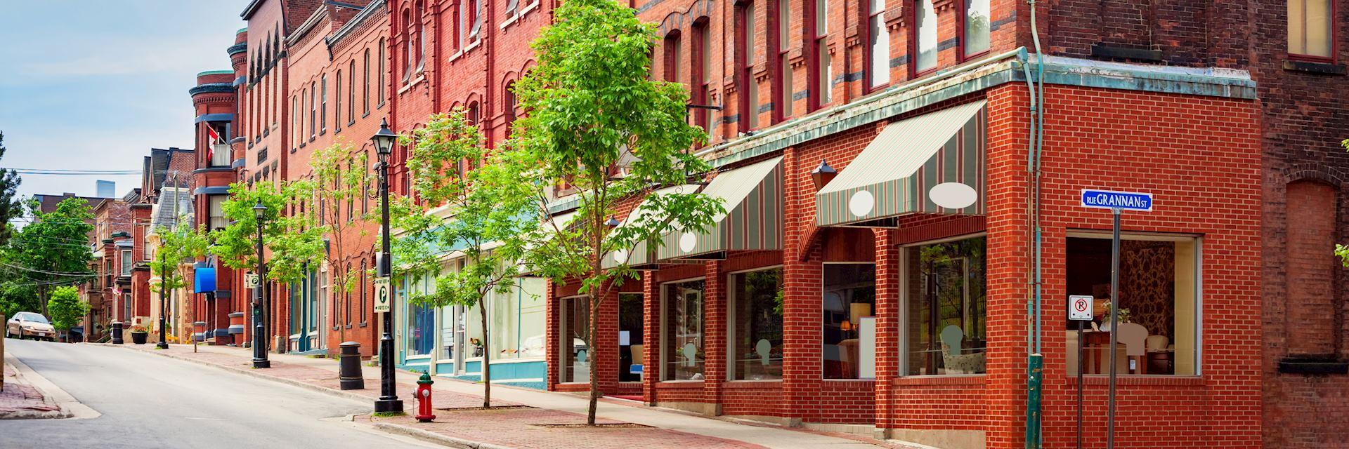 Downtown Saint John, New Brunswick