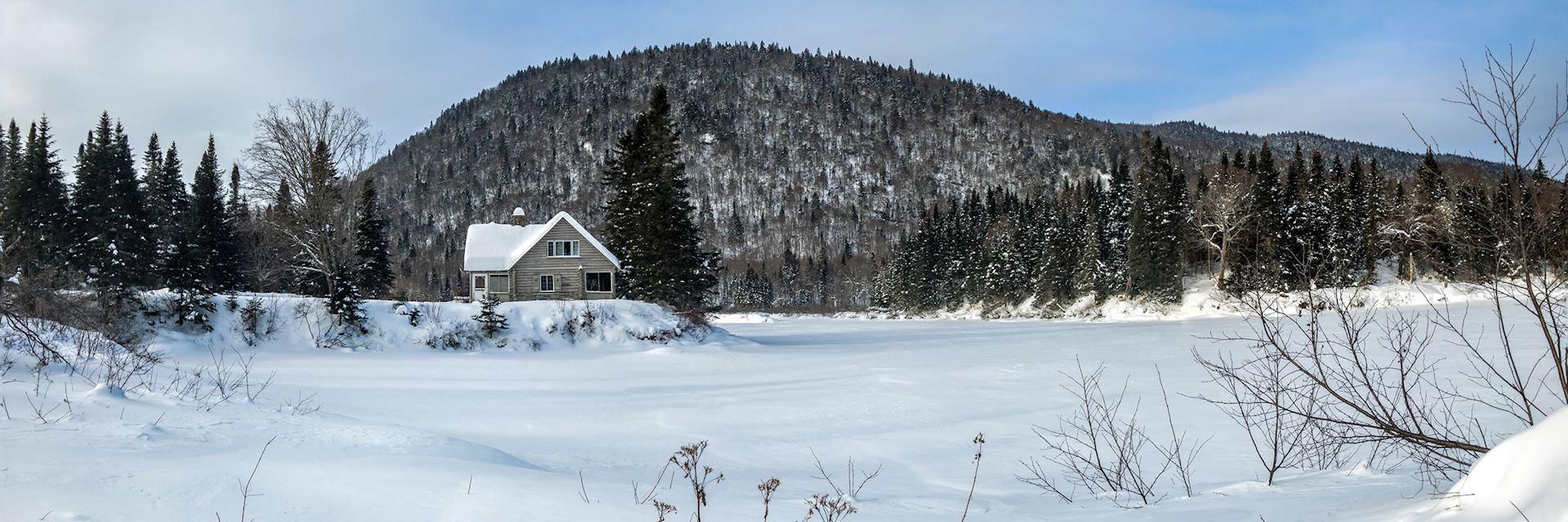 Jacques-Cartier National Park near Saint-Alexis-des-Monts