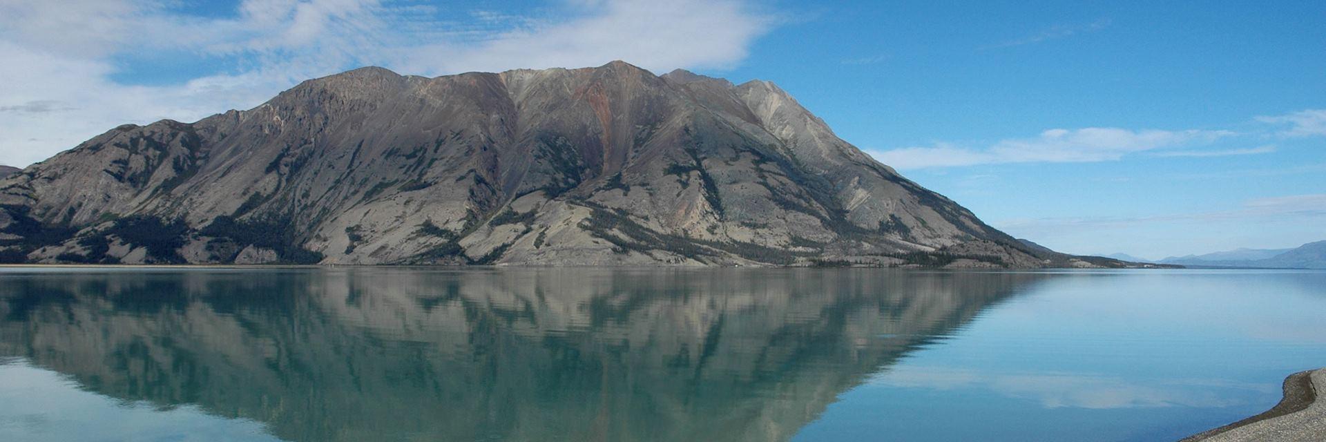 Kluane Lake, Kluane National Park