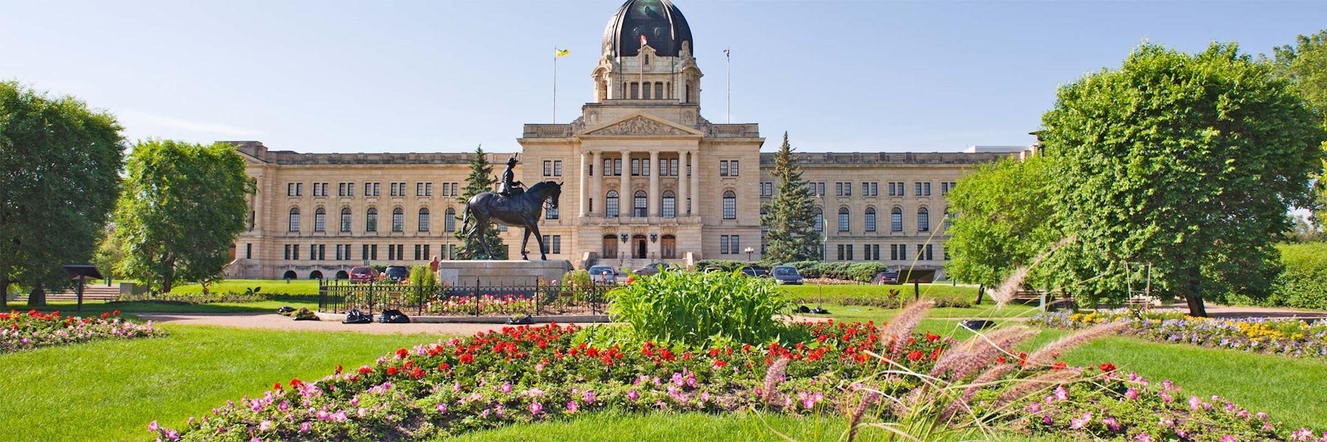 Legislative Building in Regina