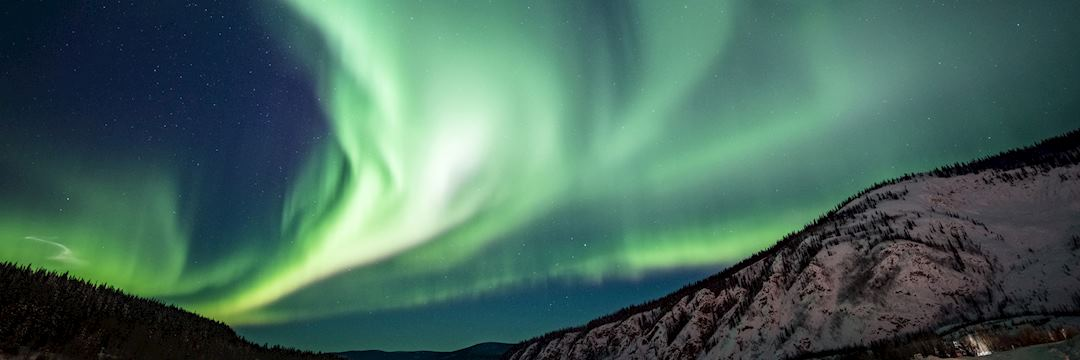 Northern Lights near Whitehorse, Canada
