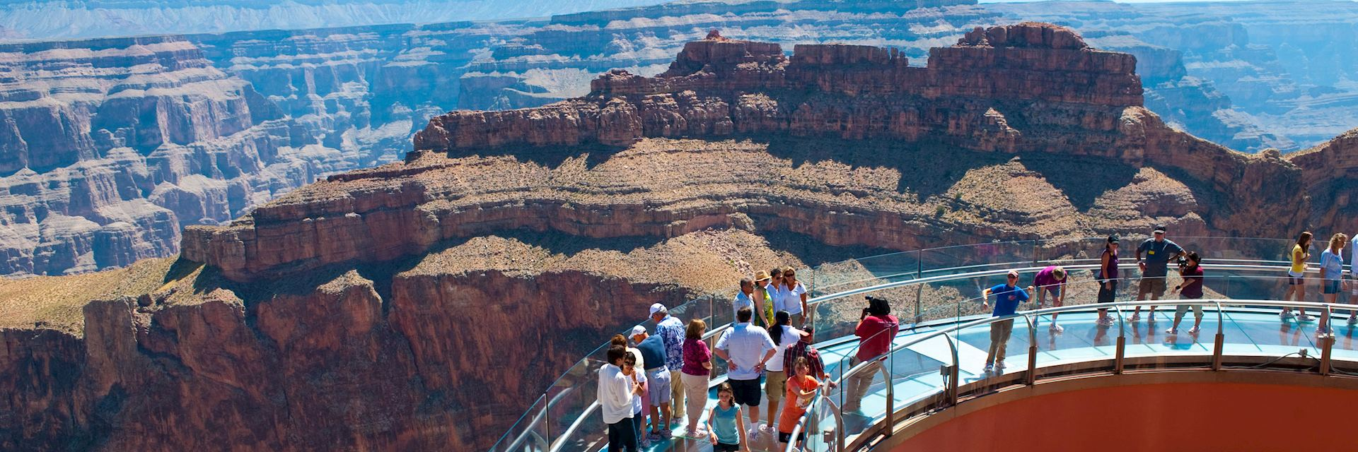 Skywalk at Grand Canyon West Rim