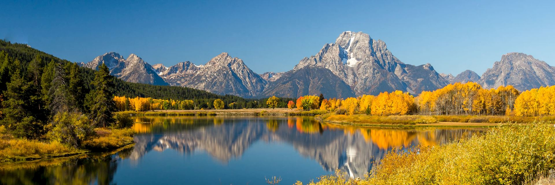 Mount Moran in Colorado